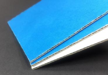1.3 E Welle 1,6mm Wellpappe blau 1020x1620mm